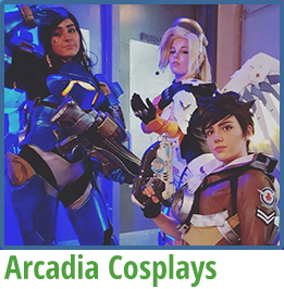 Arcadia Cosplays boxed complete